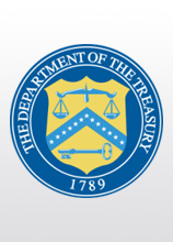 Emblem of Department of the Treasury